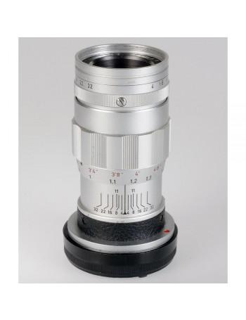 Objetiva Leica M Elmar 90mm f4 (versão com 3 elementos) - USADA
