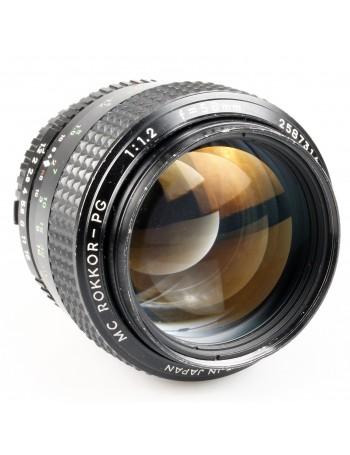 Objetiva Minolta MC Rokkor-PG 58mm f1.2 - USADA