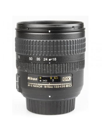Objetiva Nikon AF-S 18-70mm f3.5-4.5G ED DX - USADA