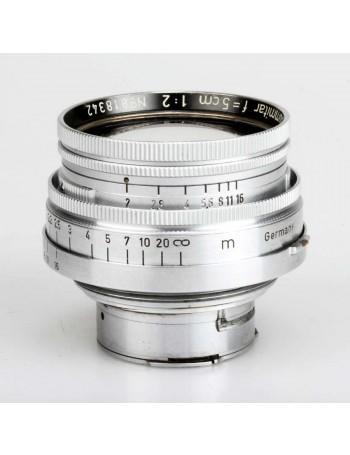 Objetiva Leica Summitar 50mm f2 - USADA