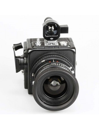 Câmera analógica médio formato Hasselblad Super Wide C (SWC) com lente Biogon 38mm f4.5 e visor  - USADA