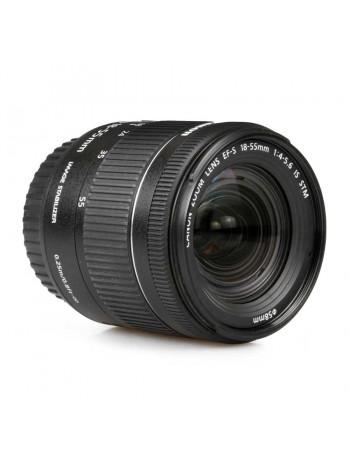 Objetiva Canon EF-S 18-55mm f3.5-5.6 IS STM - USADA