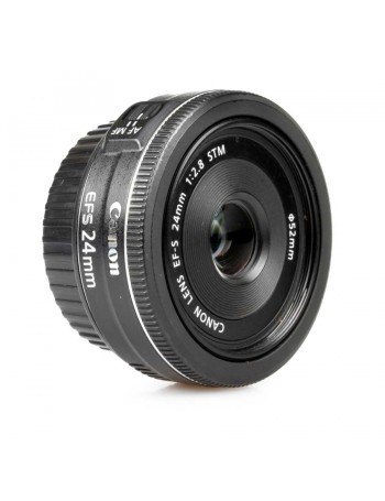Objetiva Canon EF-S 24mm f2.8 STM - USADA