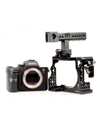 Câmera mirrorless Sony Alpha a7R III com gaiola SmallRig - USADA