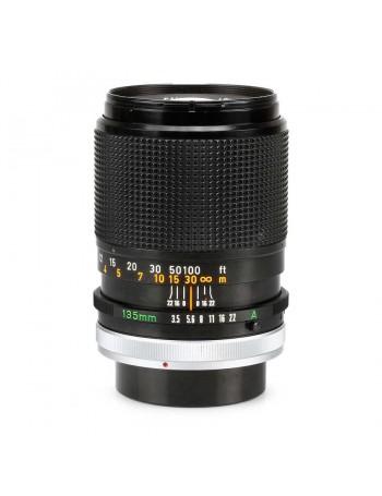 Objetiva Canon FD 135mm f3.5 SC - USADA