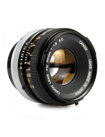 Objetiva Canon FD 50mm f1.8 SC - USADA