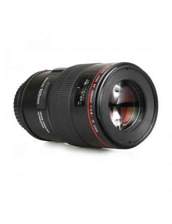 Objetiva Canon EF 100mm f2.8L Macro USM IS - USADO