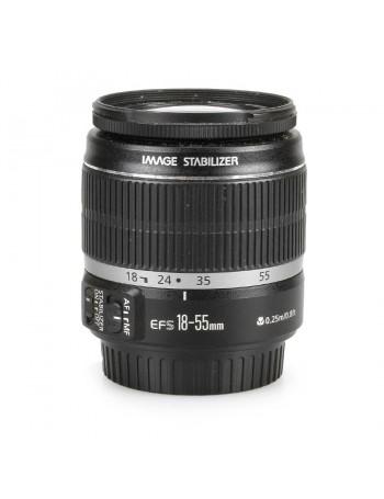 Objetiva Canon EF-S 18-55mm f3.5-5.6 IS - USADA