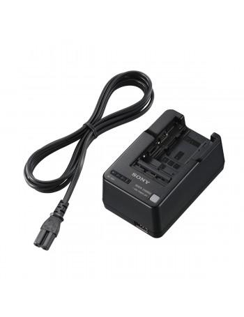 Carregador de Bateria Sony BC-QM1 (Compatível com baterias série H, M, P, V e W)