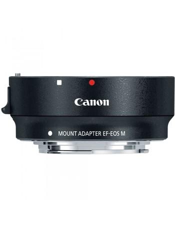Adaptador de lente Canon EF-EOS M (lente EOS EF ou EF-S em câmera EOS M)