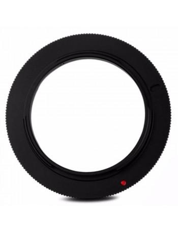 Anel inversor JJC RR AI 52mm para lente Canon