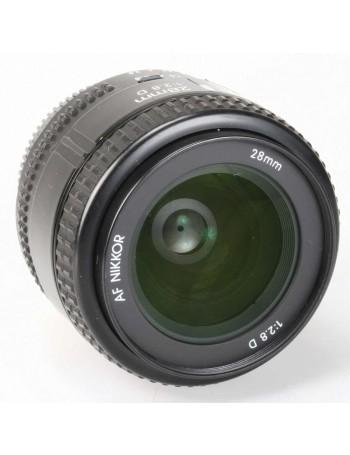 Objetiva Nikon AF 28mm f2.8D - USADA