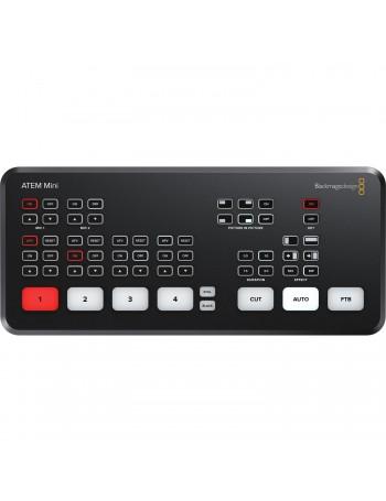 Switcher de transmissão ao vivo Blackmagic Design ATEM Mini