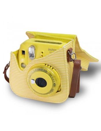 Bolsa Fujifilm instax mini 9 Amarelo Banana Listrada