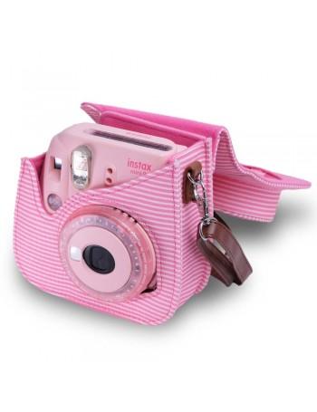 Bolsa Fujifilm instax mini 9 Rosa Chiclé Listrada