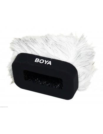 Protetor de vento felpudo Boya BY-P10 para gravador de áudio
