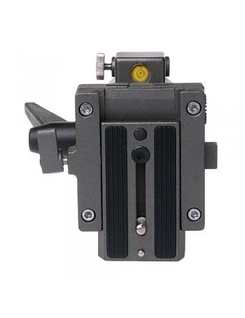 Cabeça com fluído FT016H Greika para câmeras de vídeo
