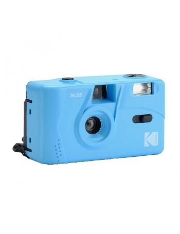 Câmera analógica compacta 35mm Kodak M35 com flash (AZUL CELESTE)