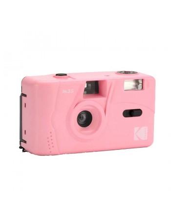 Câmera analógica compacta 35mm Kodak M35 com flash (ROSA CHICLÉ)