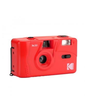 Câmera analógica compacta 35mm Kodak M35 com flash (VERMELHO ESCARLATE)