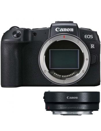 Câmera mirrorless Canon EOS RP CORPO Fullframe vídeo 4K + adaptador para lente EF e EF-S