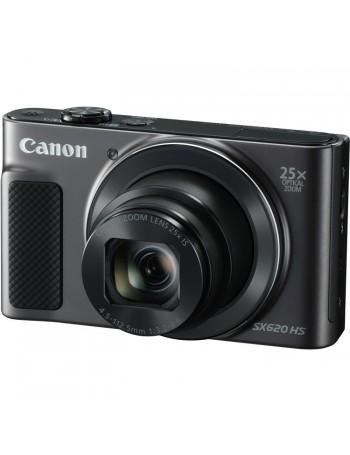 Câmera compacta Canon Powershot SX620 HS com zoom ótico de 25x e WiFi (PRETO)