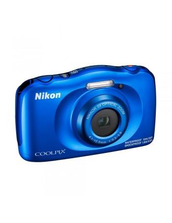 Câmera compacta a prova d'água Nikon Coolpix W150 (AZUL)