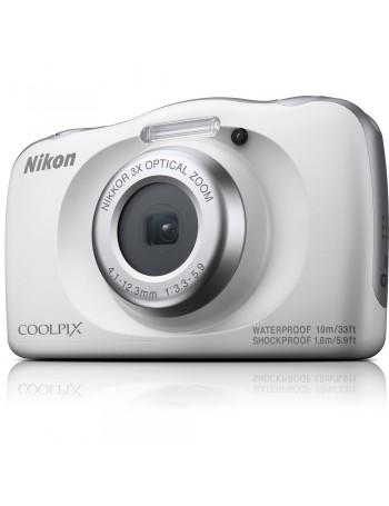 Câmera compacta a prova d'água Nikon Coolpix W150 (BRANCO)