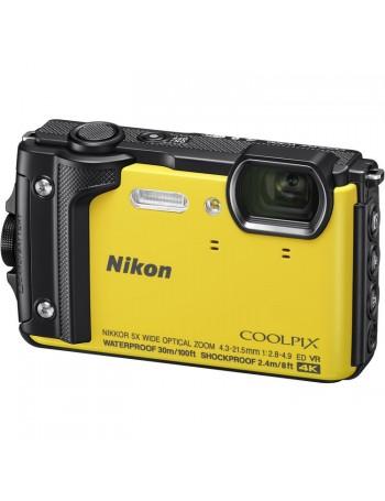 Câmera compacta a prova d'água Nikon Coolpix W300 (AMARELA)