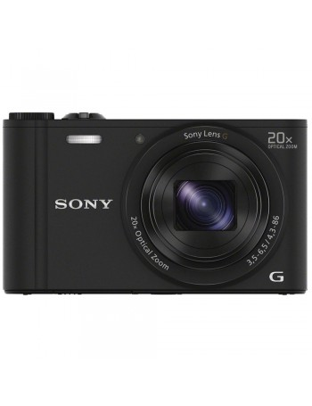 Câmera compacta Sony Cyber-shot DSC-WX350 PRETO com zoom óptico de 20x