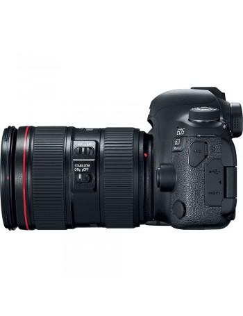 Câmera DSLR Canon EOS 6D Mark II 24-105mm f4L IS II USM