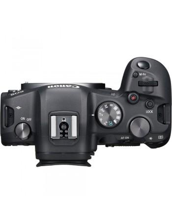 Câmera mirrorless Canon EOS R6 com lente RF 24-105mm f4L IS USM