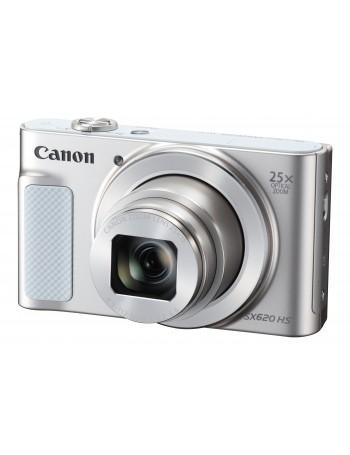 Câmera compacta Canon Powershot SX620 HS com zoom ótico de 25x e WiFi (BRANCO)