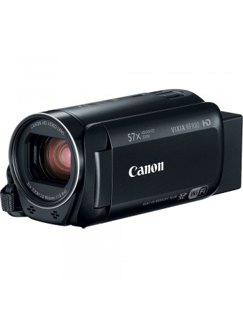 Câmera filmadora Canon VIXIA HF R80 - 57x Zoom ótico e WiFi
