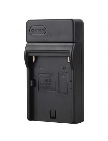 Carregador de bateria Greika CAR-NPF970 para baterias NP-F970, NP-F750, NP-F770