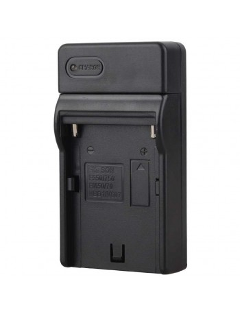 Carregador de bateria Greika CAR-NPF970 para baterias NP-F970, NP-F750, NP-F770, NP-570, F-550