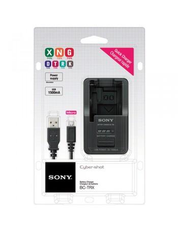 Carregador de Bateria Sony BC-TRX (Compatível com baterias tipo X, N, G, D, T, R e K)