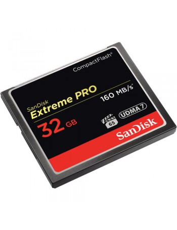 Cartão Compact Flash Sandisk Extreme PRO 32GB - 160MB/s