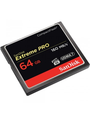 Cartão Compact Flash Sandisk Extreme PRO 64GB - 160MB/s