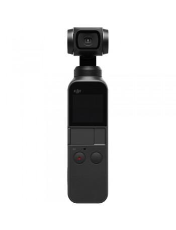 Estabilizador com filmadora DJI OSMO Pocket 4k