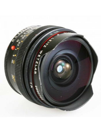Objetiva Leica Elmarit-R 16mm Fisheye f2.8 - USADA