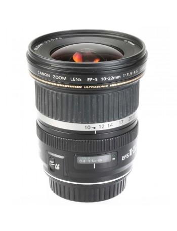 Objetiva Canon EF-S 10-22mm f3.5-4.5 USM - USADA
