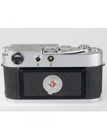Câmera analógica 35mm Leica M3 CORPO (fabricada em 1965) - USADA