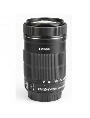 Objetiva Canon EF-S 55-250mm f4-5.6 IS STM - USADA