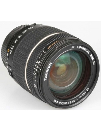 Objetiva Tamron AF 28-200mm f3.8-5.6 XR ASPHERICAL (IF) para Nikon - USADA