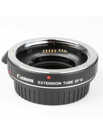 Tubo extensor Canon EF12 - USADO