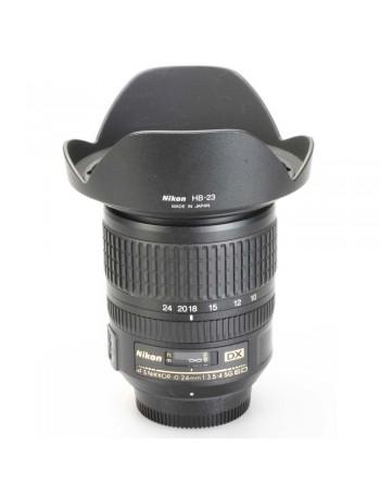Objetiva Nikon AF-S 10-24mm f3.5-4.5G ED DX - USADA