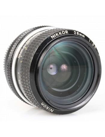 Objetiva Nikon AI 28mm f3.5 - USADA