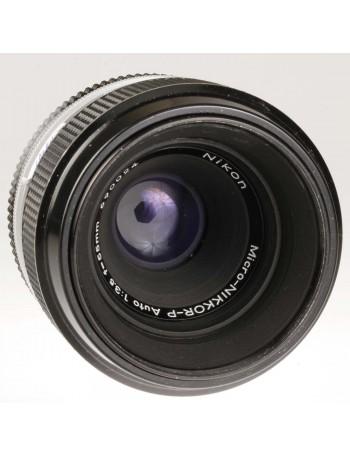 Objetiva Nikon P AI 55mm f3.5 Micro Auto - USADA