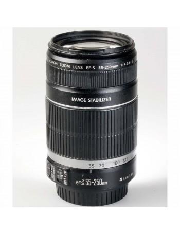 Objetiva Canon EF-S 55-250mm f4-5.6 IS - USADA